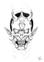 Evil hannya -shadow- by dfmurcia