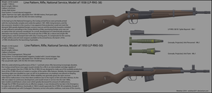 National Service Rifles, Models of 1938 and 1950 by Wolohan2011