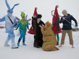 Rise of the guardians group by SaaraZ