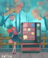 Vending Machine by MotyTan