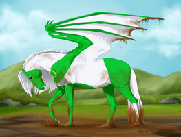 scissorclaw Commission by Tesurii
