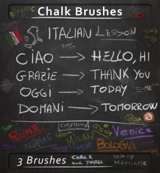 Chalk Brush for any situation  chalk and pastel by MattiaMc