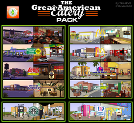 The Great American Eatery Pack by TLK4EVR