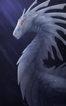 Silver Dragon [TIMELAPSE] by Soulsplosion