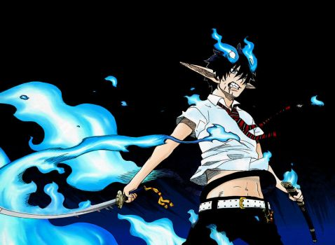 Ao no Exorcist: Demonfire by dragonsoul