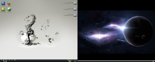 Current Desktop by radioactivity