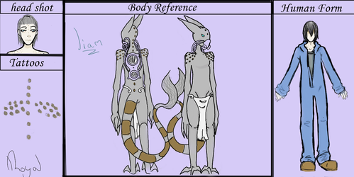 Liam's reference sheet by Qu-Ross
