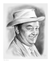 Otis Campbell from the Andy Griffith Show by gregchapin