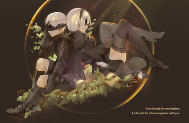 Nier:Automata: Even if it's meaningless... by Haiyun