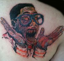 Steve Urkel Tattoo by NickyNightmare