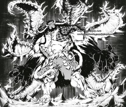 KAIDO with KAGUNE Tentacles Fusion Commission by marvelmania