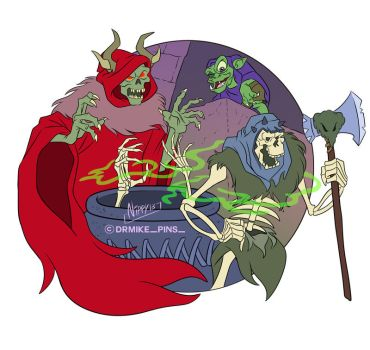 The Black cauldron by Nippy13