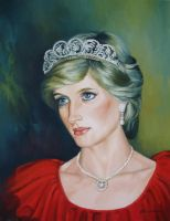 Princess Diana by elenaoleniuc