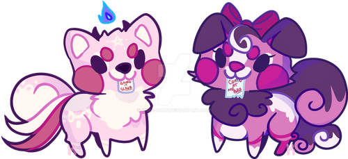 Daemon Pomme Adopts: OPEN by Khimi-chan