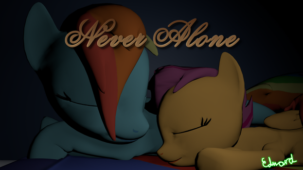 Never Alone by Edward256