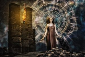 Hecate - Watcher of the gates by hankep