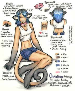 Commission 10 -- Christine ref by Nanuka