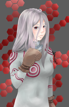 Shiro - Deadman Wonderland (2) by kirinasan