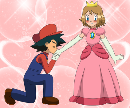 [AT] AmourShipping cosplay Mareach by EloTheDreamgirl