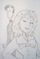 The Doctor and River Song by BevisMusson