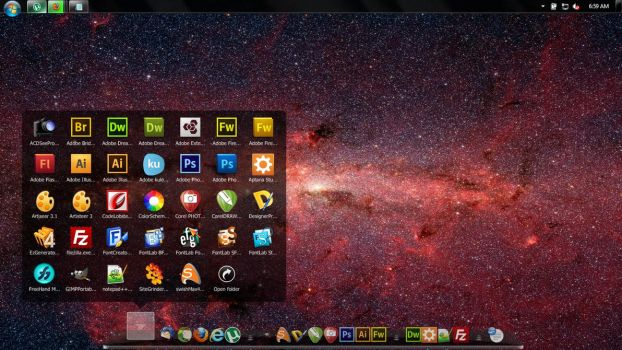 Windows 7 Desktop by CDevelop
