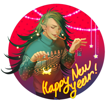 Happy New Year 2018! by Saiprin