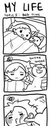 my life...bed time by junawashere