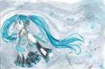Miku floating by Lexou-chan