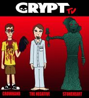 Crypt TV Line Up I by Lordwormm