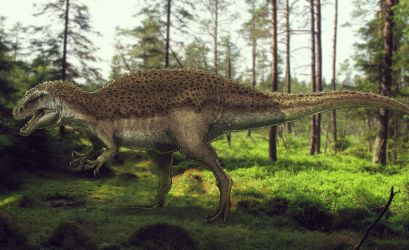 Veterupristisaurus milneri by Paleocolour