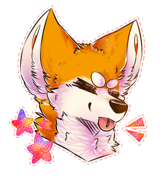 Flames - Sticker by wolfglass