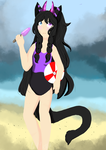 Its Beach time! (Redraw) by TheLittleFluff