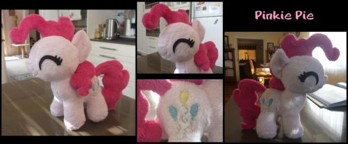 MLP: Pinkie Pie Filly Plush by ChibiTigre