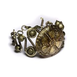 Steampunnk jewelry Bracelet 3 by CatherinetteRings