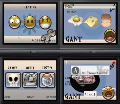 NDS theme: GANT DS by Reameth