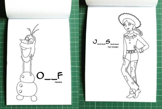 Preview Inside Coloring Book no.5 by madna29