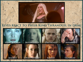 Thranduil Crossover- Elves react by Faerietopia