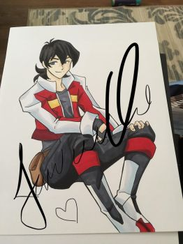 Voltron Keith in process by AnimeJanice