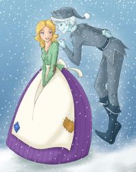 Jack Frost and Elisa by scaragh