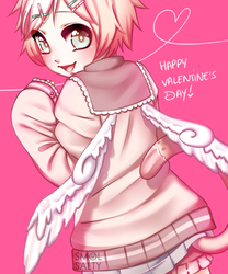 Happy Valentine's Day from Hitohi by SmolSalty