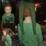 Child Sized Twi'lek hat by ThatCrochetFairy