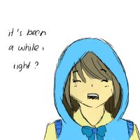 My (not really) first time drawing on a tablet. by haruka-shirayuki
