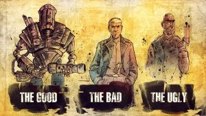 The Good the Bad and the Ugly by JasonWordie