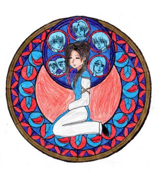 Xiao-Xing's Stained Glass Colored by Karljna