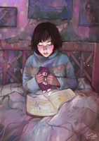 Bedtime by Katsuvy