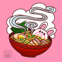 Day 258 - bunny ramen by salvadorkatz