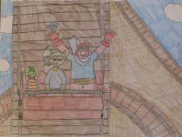 The Cooper Gang on a Ride by SlyCooperRocks101
