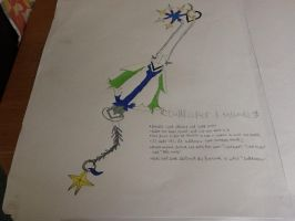 Oathkeeper Keyblade by BenBandicoot