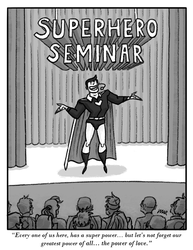 Superhero Seminar 2 by gaudog