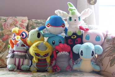 My Pokedoll Collection 1 by Fishlover